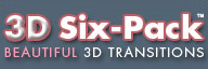 Pixelan 3D Six-Pack, Beautiful, Realistic 3D Video Transitions