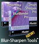 Blur-SHarpen Tools